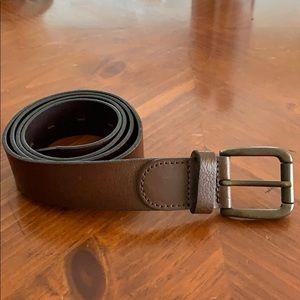 Leather J. Crew belt.